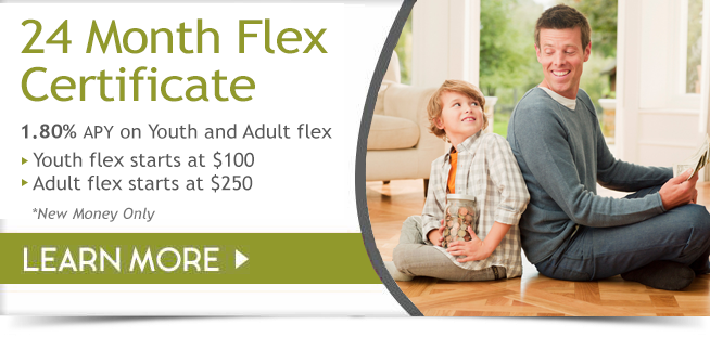 24 month flex certificate - more info below